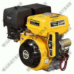 4-Stroke Gasoline Engine with Single Cylinder, Recoil and Electric Starter