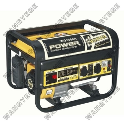 Gasoline Generator, Large Muffler for Quiet Operation, Standard Configuration