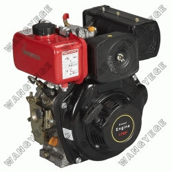 Diesel Engine with 4.2 HP Single Cylinder and Recoil Starter or Direct Injection Combustion System