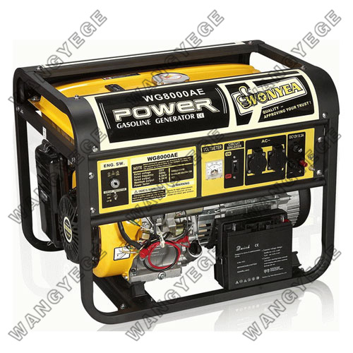 Gasoline Generator with WE190F/WE190FE Engine and Large Muffler