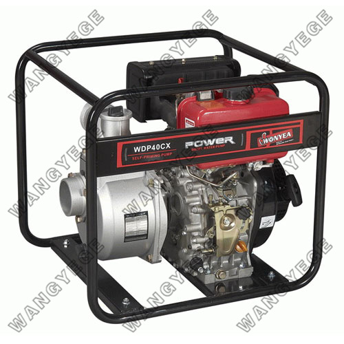 4-inch 9.0PS diesel Water Pump Set with Diesel Engine and 85m3/h Displacement