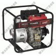 Water Pump Set with 3-inch, Single Cylinder, 4-Stroke Engine and Recoil Starting Mode
