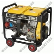 Diesel Generator with 5.5kW Maximum Output, Suitable for Emergency and Home Standby Use